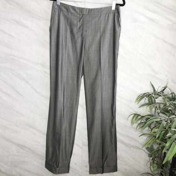 MaxMara Pants - Max Mara Cuffed Trouser Pants 10